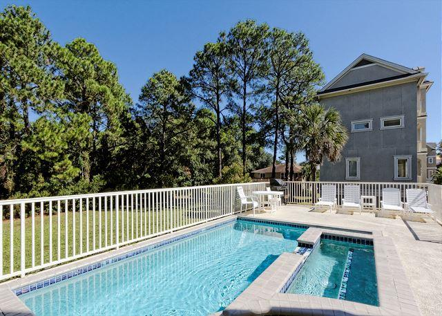 Beautiful interior - Urchin Manor 5,  6 Bedrooms OceanView, Private Pool, Spa, Elevator, Sleeps 21 - Hilton Head - rentals