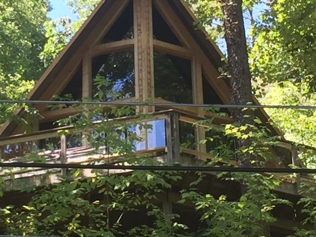 Unobstructed mountain and wooded views with clear railings! - Smoky Ridge Cabin, Mtn View, Pool Table, 3 Kings - Gatlinburg - rentals