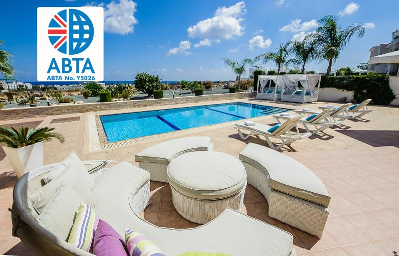 Oceanview Villa 113 - Spacious with sea views - Image 1 - Protaras - rentals