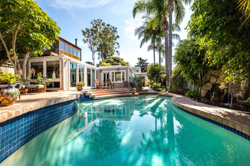 Private backyard Oasis with - Del Mar Secluded Oasis w/ Private Pool, Spa, BBQ - Del Mar - rentals