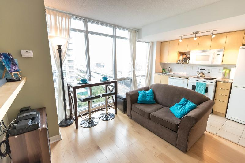 Living Room - Harbourfront Condo - CN Tower View! - Toronto - rentals