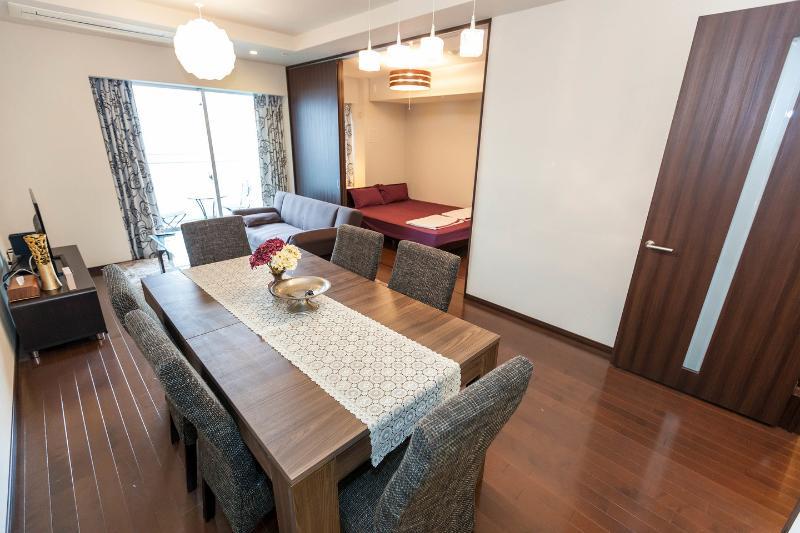 Living Room - #4-Beautiful Tokyo Tower view, Ginza, Tsukiji - Chuo - rentals
