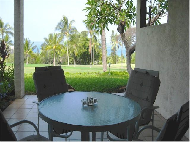 Private lanai - Country Club Villas  119 2/2 NO BOOKING FEE - Kailua-Kona - rentals