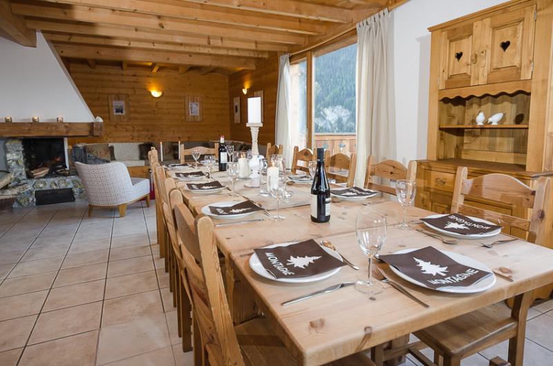 White Stripe Mountain Lodge Chalet Melez - Image 1 - Peisey-Nancroix - rentals