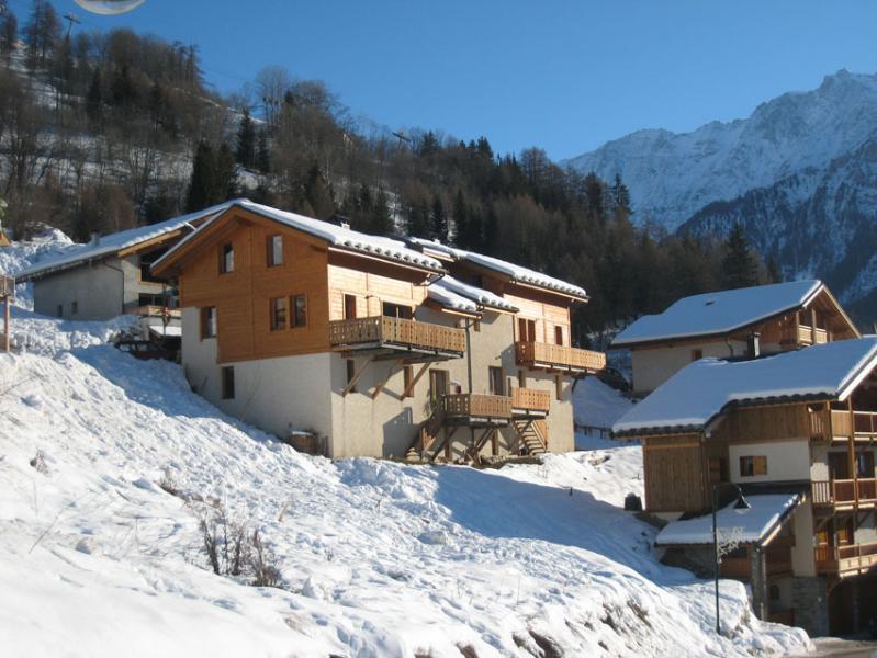 Front of chalet - White Stripe Mountain Lodge Chalet Melez - Peisey-Nancroix - rentals