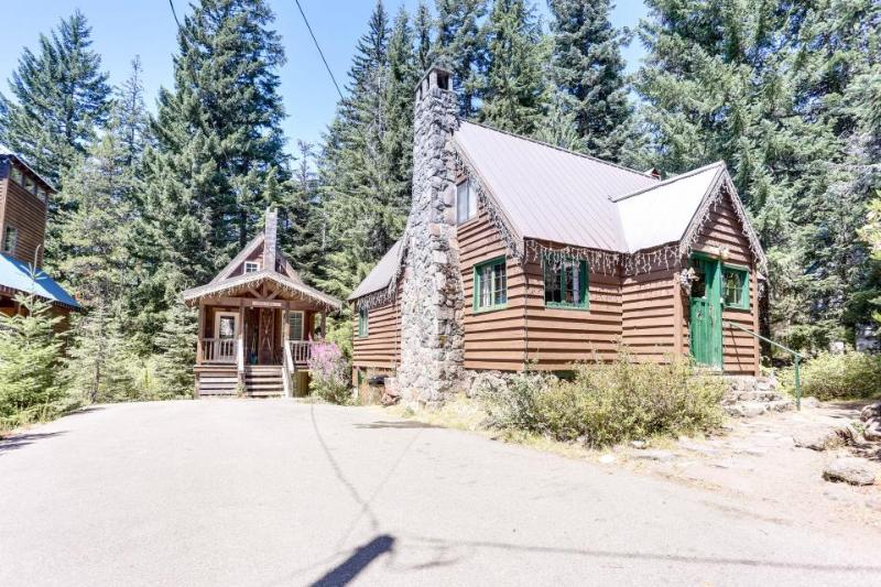 Dog-friendly, family-friendly log cabin w/fairytale interior. - Image 1 - Government Camp - rentals