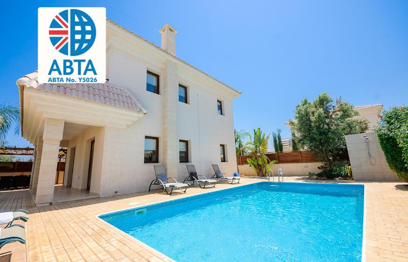 Oceanview Villa 080 - close to amenities & beach - Image 1 - Famagusta - rentals