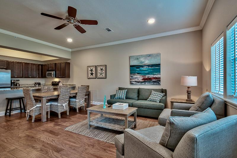 Living room view - ALERIO B204 - Miramar Beach - rentals