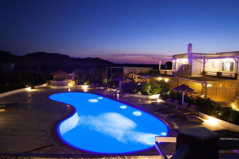 Pool area - EL MAR Estate - Villa Phos (4 BR) - Mykonos Town - rentals