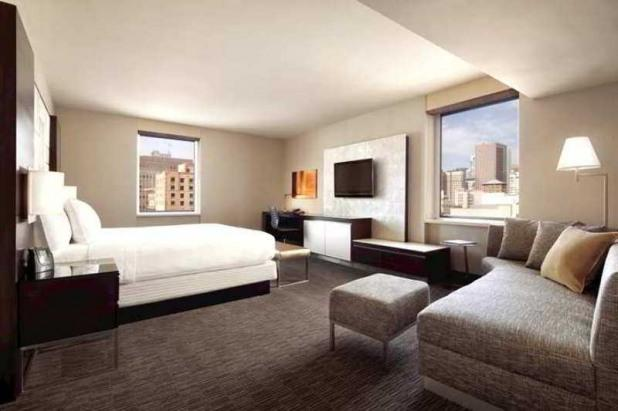 Single Bed Room View - Hilton San Francisco Union Square - San Francisco - rentals