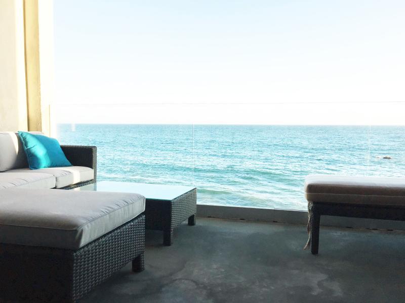 Deck feels like you are floating above the water! - Oceanfront Malibu Modern Luxury - Malibu - rentals