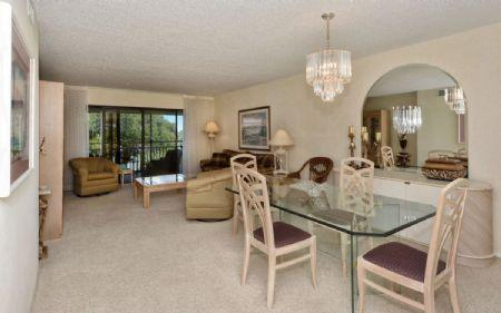 Living & Dining Room - Chinaberry 943 - Sarasota - rentals