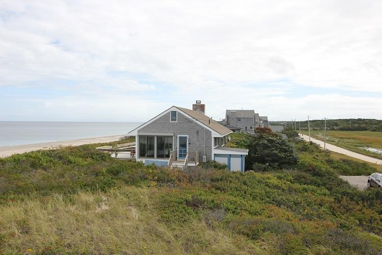 View of Cottage from side - 36 Salt Marsh Rd. - East Sandwich - rentals