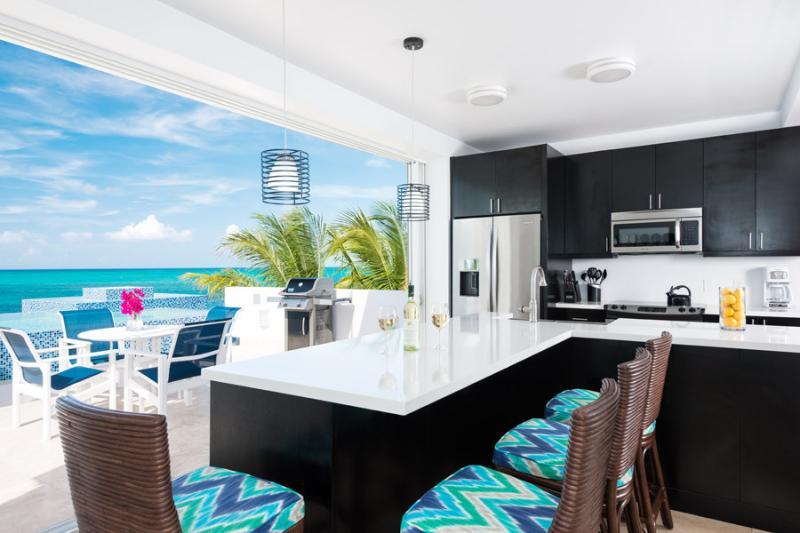 Plum Wild, 2BR beachfront villa on Grace Bay - Image 1 - Turtle Cove - rentals