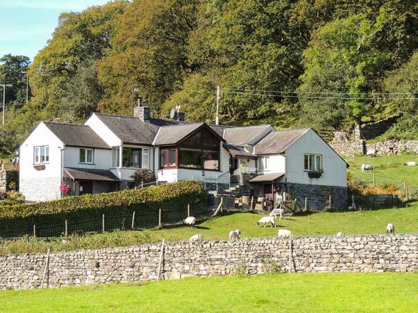 BROWSIDE, pet-friendly cottage with hot tub, superb lake views, near Coniston Ref 913968 - Image 1 - Coniston - rentals