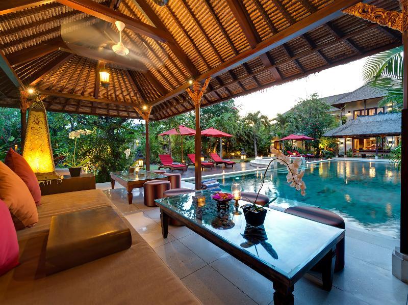 Villa Kalimaya I - Lounge pavilion at sunset - Villa Kalimaya I - an elite haven - Seminyak - rentals