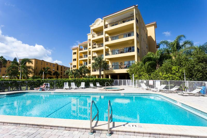 The Pool - Luxury Water Front Condo - Intercoastal Waterway - Treasure Island - rentals