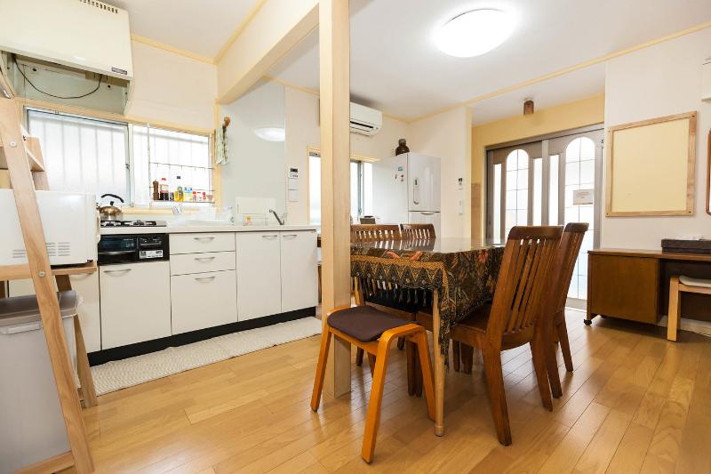 Kitchen Dining Room - Tokhouse Tokyo Vacation House - Tokyo - rentals