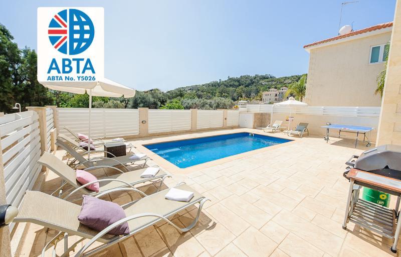Oceanview Villa 060 - 4 bed with rooftop terrace - Image 1 - Protaras - rentals
