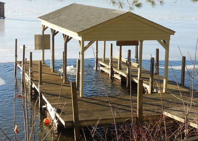 Boat Dock - Cabin with Shared Beach (HIC44W) - Gilford - rentals