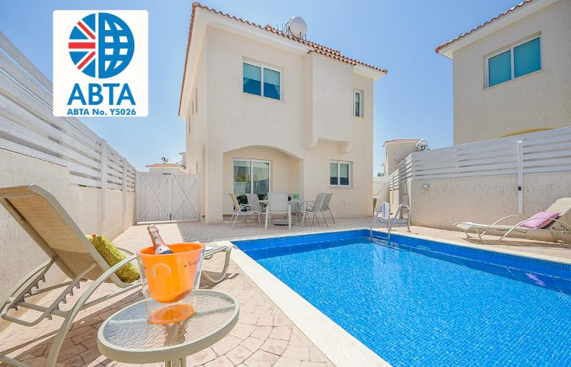 Oceanview Villa 028 -  incredible roof terrace - Image 1 - Famagusta - rentals
