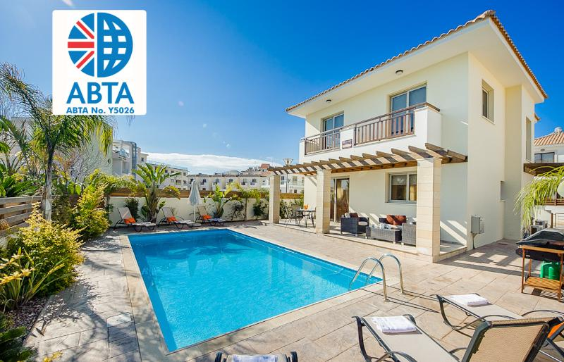 Oceanview Villa 089 - Just minutes from the beach - Image 1 - Protaras - rentals