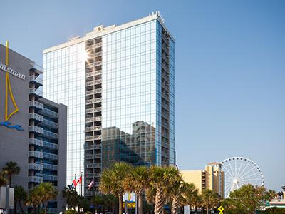 Vacation in the Heart of Myrtle Beach- 1 Bedroom Condo at SeaGlass Tower - Image 1 - Myrtle Beach - rentals
