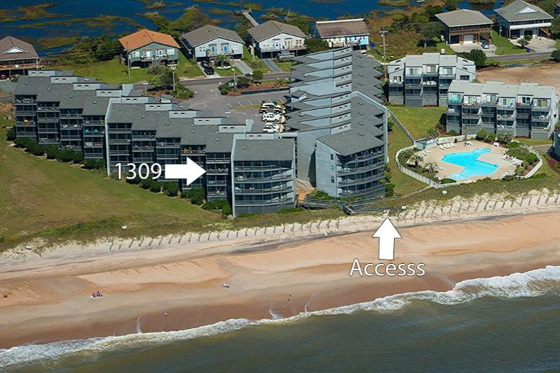 Great Location - Shipwatch Villa 1309 -2BR_6 - Sneads Ferry - rentals