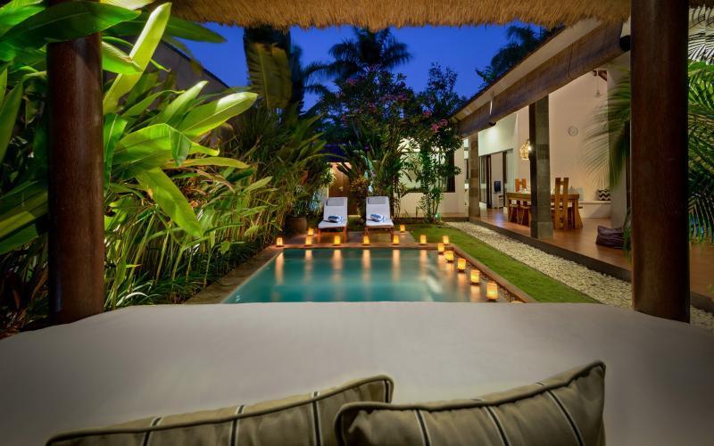 VILLA SAUDARA 1 - PRIME LOCALE, ONLY 75M TO BEACH - Image 1 - Bali - rentals