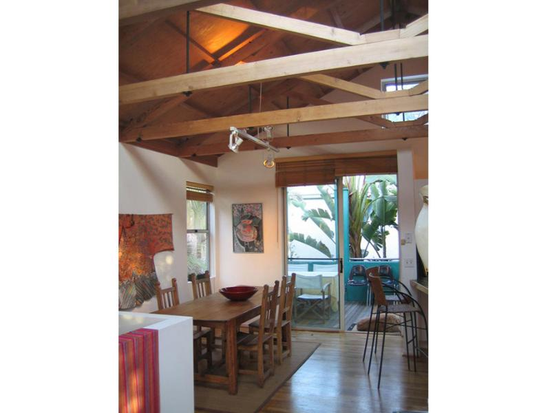Dining Room Leads to al Fresco Deck - Architectural Gem! Stroll Canals to Beach - Santa Monica - rentals