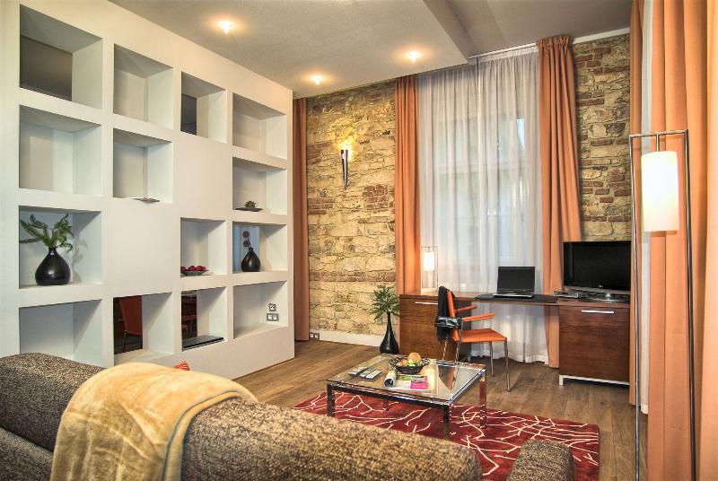 Cozy living area - Historical Center - Executive 1bdr | Rybna Resid. - Prague - rentals