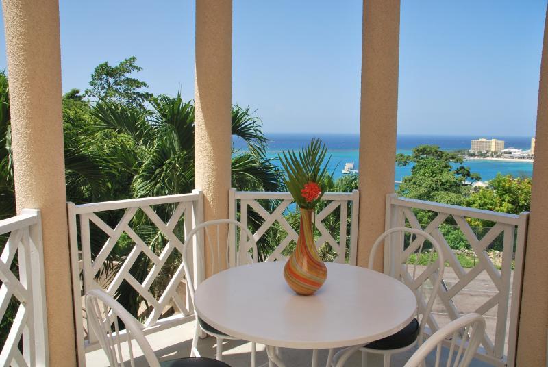 view from apartment J4 - Columbus Heights Ocean View Studio Condo wi/fi 24h - Ocho Rios - rentals