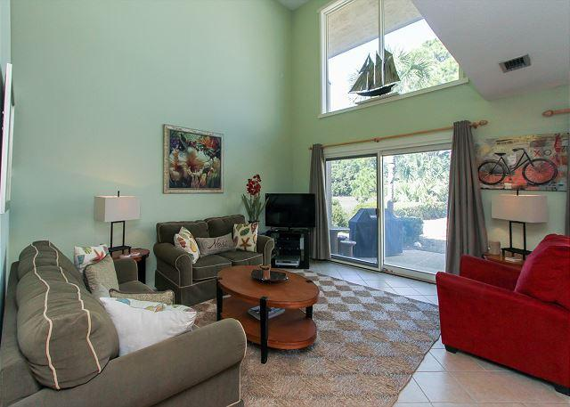 Living Area - 263 Stoney Creek-Pretty, Peaceful  Marsh Views for the Nature Lovers. - Hilton Head - rentals