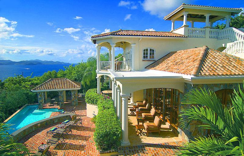 Villa Las Brisas Caribe, St. John Virgin Islands. Elegance & Splendor in Caribbean Living - Las Brisas Caribe - Virgin Islands National Park - rentals