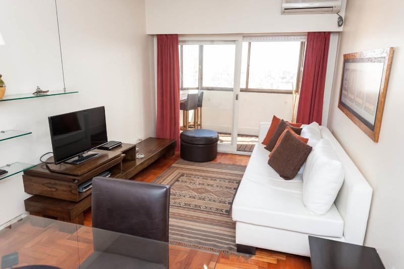 Living Room - Excellent 1 Bedroom Apartment In Recoleta - Buenos Aires - rentals