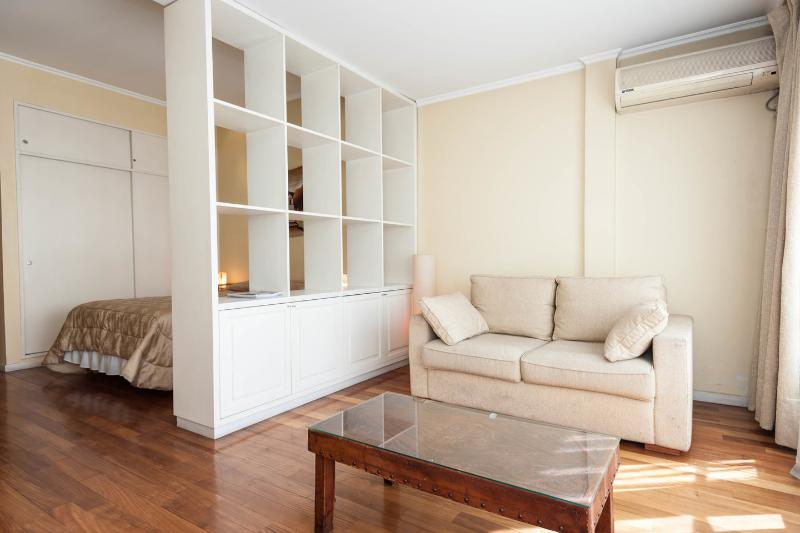 Living Room - NICE AND BRIGHT STUDIO IN RECOLETA - Buenos Aires - rentals