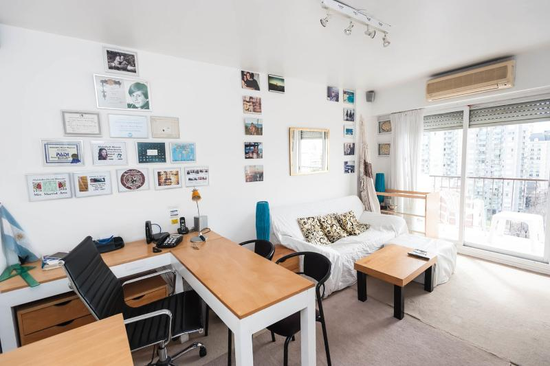 Living Room - OCEANVIEW ! PREMIUM, SAFE: RELAX , ENJOY! :-) - Buenos Aires - rentals