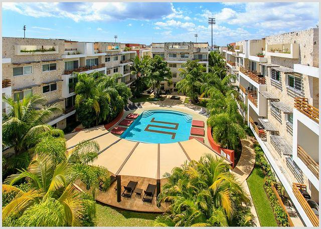VERY BIG * MAMITAS BEACH AREA * GYM *JACUZZI * UP 10 PEOPLE * FREE INTERNET - Image 1 - Playa del Carmen - rentals