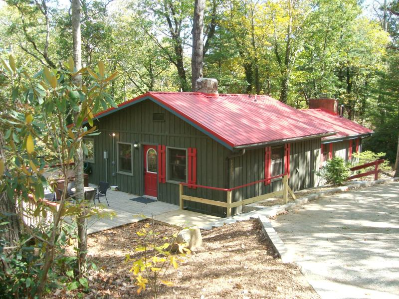 RED CREEK CABIN, Hot Tub/King Bed/2 FP/WIFI/Creek - Image 1 - Asheville - rentals