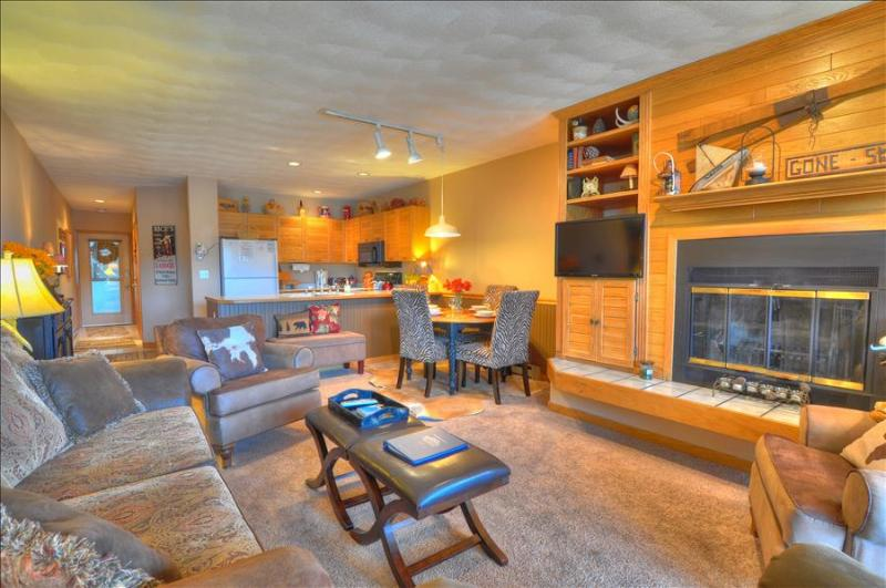 EAST BAY 5: Attractive 1/1, Steps From Fishing, Rec Path on Lake Dillon - Image 1 - Dillon - rentals