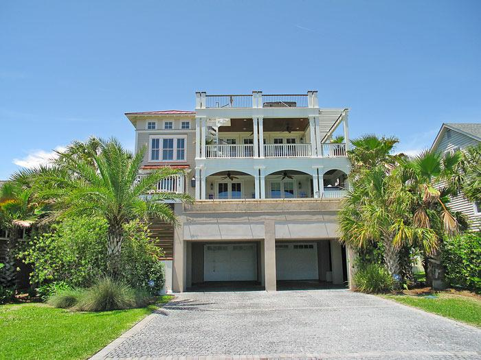 Front view of 'Ocean View' - Fall Discounts!! Great Ocean Views, Pool,elevator - Isle of Palms - rentals