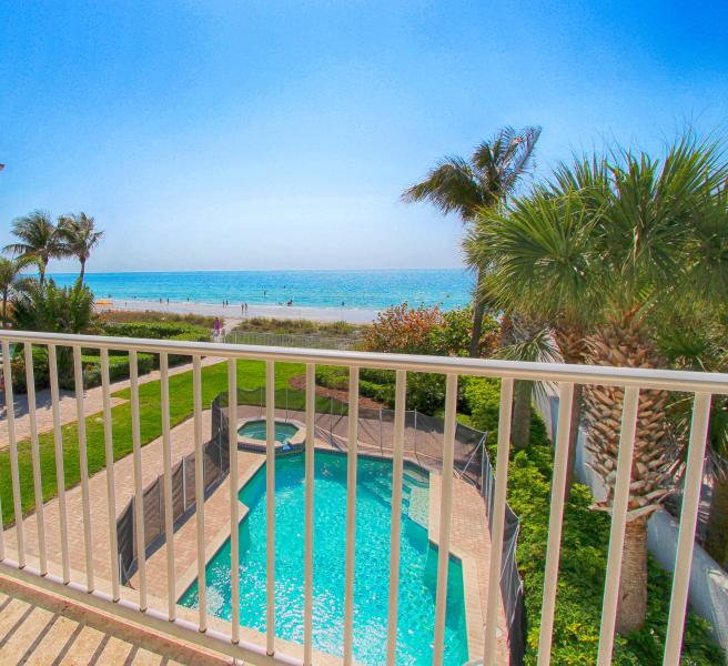 Beachfront Aqua Escape - Pool - September Special - Image 1 - Indian Rocks Beach - rentals