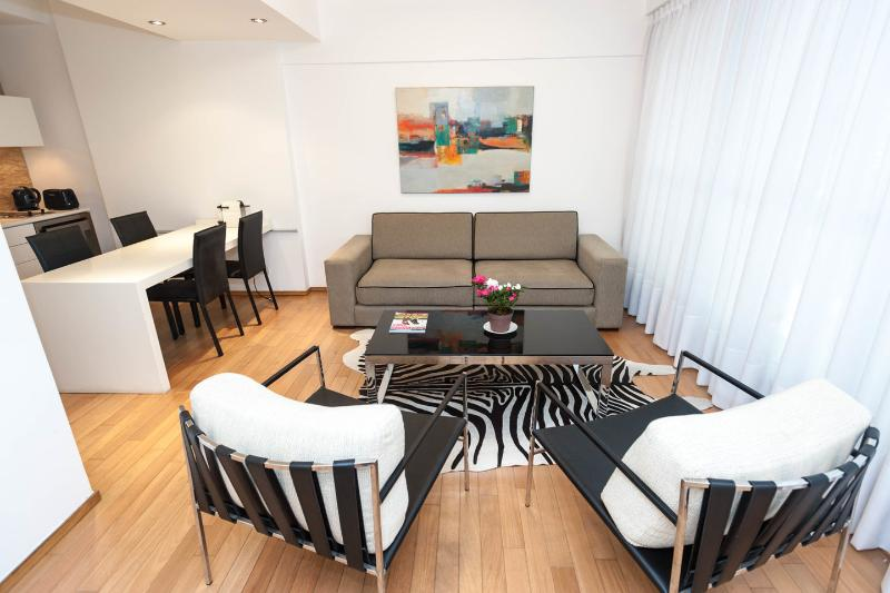 Living Room - Palermo Brand new and luxury apt, best location - Buenos Aires - rentals