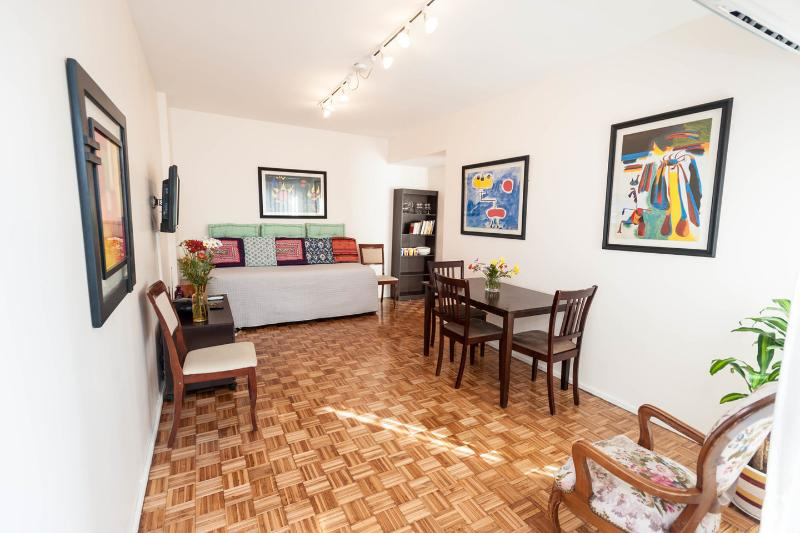 Dining Room - 420ft²Central-Quiet-Happy-Safe! - Buenos Aires - rentals