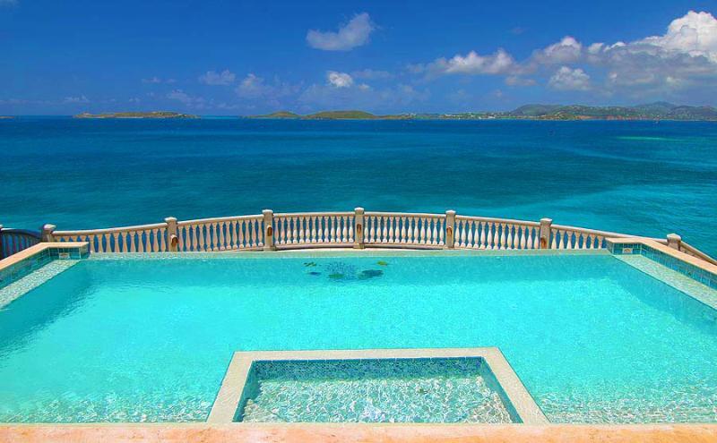 Villa Rhapsody St. John - at the edge of the spectacular Caribbean! - Villa Rhapsody StJohn - Overlooking the Caribbean - Virgin Islands National Park - rentals