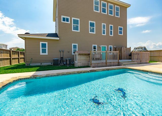 Private Pool - All Waves, No Worries, Gulf Views, Private Pool, Close to Beach - Port Aransas - rentals