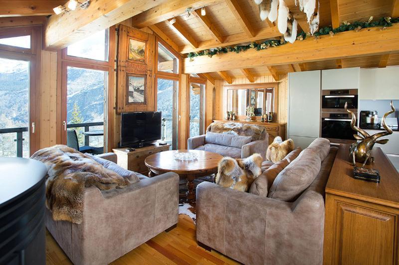 Stirling Luxury Chalet, Sleeps 8 - Image 1 - Saas-Fee - rentals