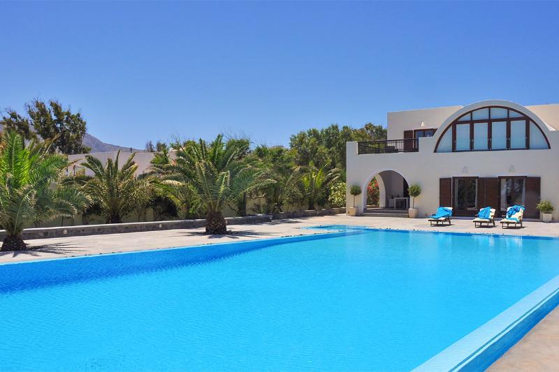 Santorini Beach Villa, Sleeps 6 - Image 1 - Mesaria - rentals