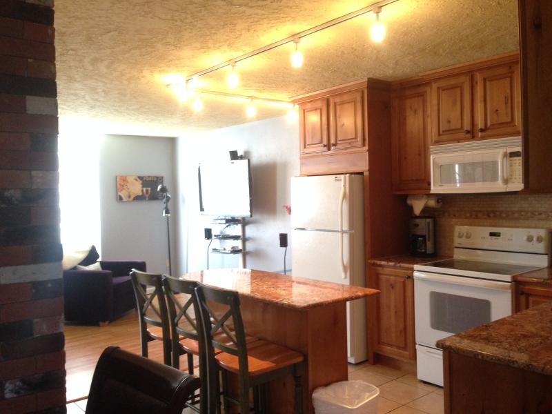 Beautiful bright kitchen with granit - Modern Two Story Condo on the Creek - Hot Tub-Pool - Dillon - rentals