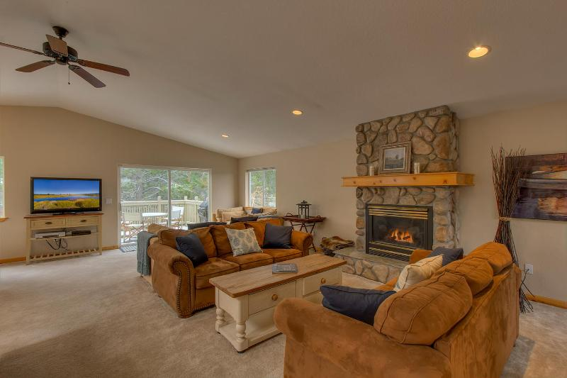 Tahoe Island House - Spacious Tahoe Keys Home, Water View, Open Floor Plan, Wifi, Spa - Image 1 - South Lake Tahoe - rentals